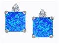 Blue Simulated Opal