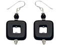 Noah Philippe Simulated Onyx Earring Drops