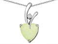 Original Star K™ 8mm Heart Shape Simulated Opal Pendant