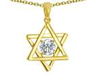 Tommaso Design Genuine Jewish Star of David Pendant by Devorah. Style number: 305052