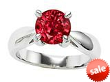 Original Star K™ 7mm Round Created Ruby Engagement Ring style: 26895