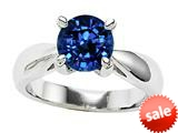 Original Star K™ 7mm Round Created Sapphire Engagement Ring style: 26899