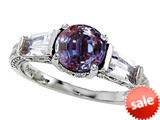 Original Star K™ Round 7mm Simulated Alexandrite Engagement Ring style: 26980