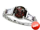 Original Star K™ Round 7mm Genuine Garnet Engagement Ring style: 26984