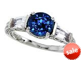 Original Star K™ Round 7mm Created Sapphire Engagement Ring