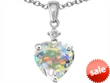 Original Star K™ 8mm Heart Shape Swarovski Crystal Pendant style: 302795