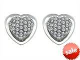 Original Star K™ Heart Shape Love Earrings with Cubic Zirconia style: 306259