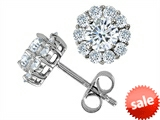 Original Star K™ Round Cubic Zirconia Earrings
