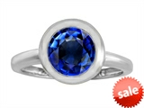 Original Star K™ 8mm Round Solitaire Engagement Ring With Created Sapphire