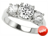 Original Star K™ 7mm Round Genuine White Topaz Engagement Ring style: 307294