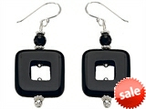 Noah Philippe™ Simulated Onyx EarringsDrops style: 308275