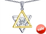 Tommaso Design™ Jewish Star of David Pendant by Devorah style: 308282
