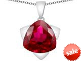 Original Star K™ Large 15mm Trillion Star Pendant with Created Ruby style: 309828