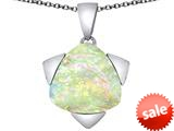 Original Star K™ Large 15mm Trillion Star Pendant with Created Opal style: 309830