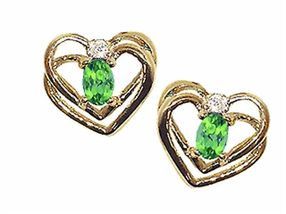 Genuine Peridot Earrings peridot earrings