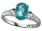 Tommaso Design™ Genuine Emerald and Diamond Ring style: 21801