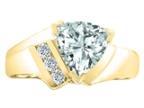 Tommaso Design™ Genuine Aquamarine Ring style: 22779