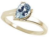 Tommaso Design™ Genuine Aquamarine Ring style: 23232