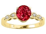 Tommaso Design™ Created Ruby Engagement Ring