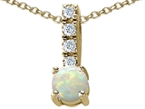 Original Star K Genuine Opal Pendant