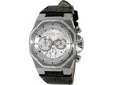 Officina Del Tempo Race II 42mm Chronograph Leather Band (OT1041/1100AN) Made in Italy style: OT10411100AN