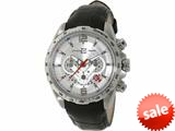 Officina Del Tempo COMPETITION 43mm Chronograph Leather Band (OT1046/1120N) Made in Italy style: OT10461120AN