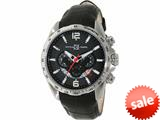 Officina Del Tempo COMPETITION 43mm Chronograph Leather Band (OT1046/1120N) Made in Italy style: OT10461120N