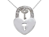 Key to your Heart Diamond Pendant style: 670004