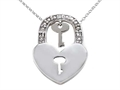 Key to your Heart Diamond Pendant