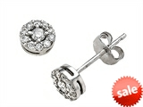 Round Diamonds Earrings style: 670002