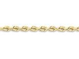 22 Inch 10k 6mm Handmade Diamond-cut Rope Chain style: 10K04022