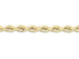 20 Inch 10k 7mm Handmade Diamond-cut Rope Chain style: 10K05020