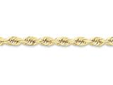 22 Inch 10k 7mm Handmade Diamond-cut Rope Chain style: 10K05022