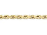 24 Inch 10k 8mm Handmade Diamond-cut Rope Chain style: 10K06024