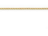 16 Inch 14k bright-cut Hollow Chain style: BC13116