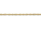 18 Inch 14k 2.45mm Hollow Singapore Chain style: BC14818