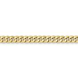 18 Inch 14k Hollow Miami Cuban Chain style: BC15518