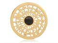 Nikki Lissoni Gold-tone 33mm Center Of The World With Onyx Coin