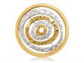 Nikki Lissoni Silver-tone 33mm Egyptian Goddess Coin