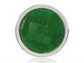 Nikki Lissoni Silver-tone 23.6mm Dyed Green Quartz Coin