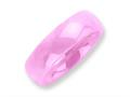 Chisel Ceramic Pink 6mm Polished Weeding Band