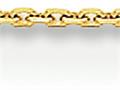 20 Inch 14k .95mm Diamond Cut Cable Chain