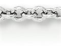 18 Inch 14k White Gold 1.25mm Cable Chain
