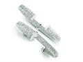 Stainless Steel and Sterling Silver Cubic Zirconia Threaded Look Bangle