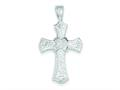 Sterling Silver Cross Pendant - Chain Included