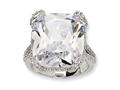 Cheryl M™ Sterling Silver CZ Ring