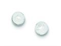 Silver Glasterling Silver Bead Post Earrings