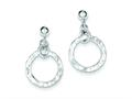 Sterling Silver Dangling Circle Earrings