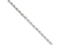 Sterling Silver Hollow Rope Chain