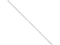 10 Inch Sterling Silver 2mm Rolo Chain